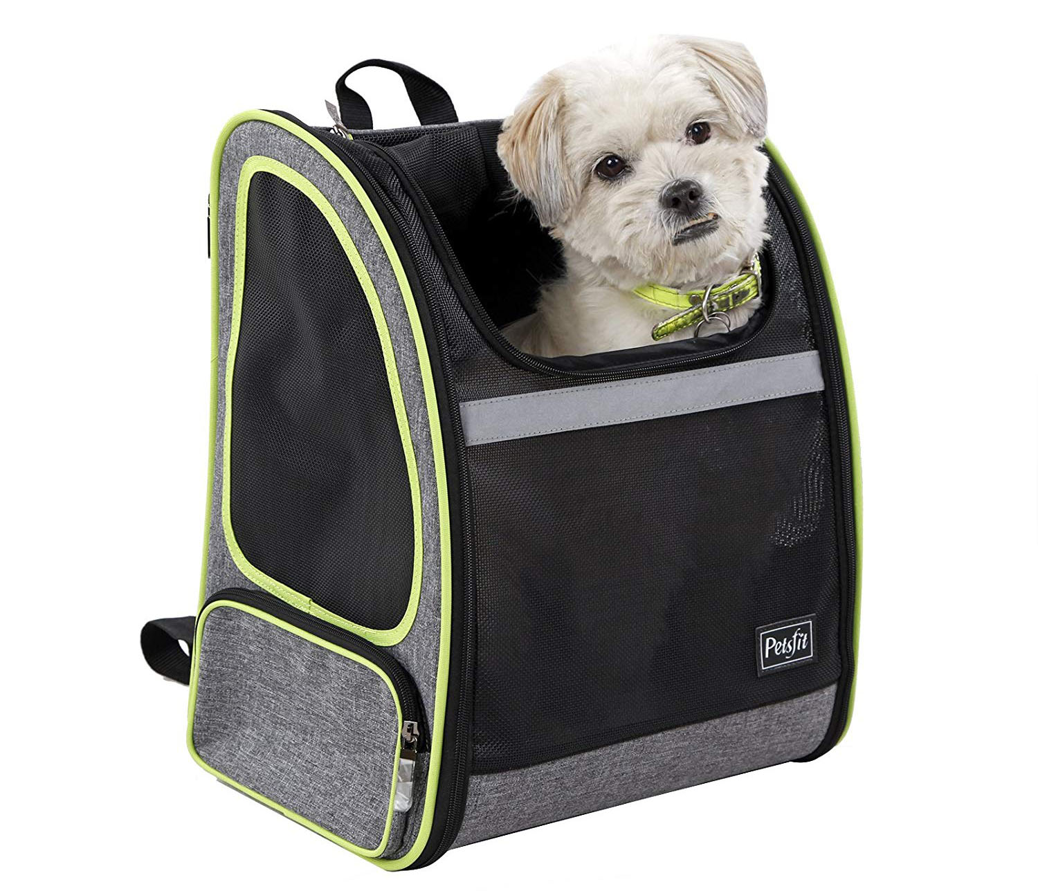 Petsfit 17.3H 13 W10.6L Inches Comfort Dogs Carriers Backpack for Cat Or Dog, Go for A Walk, Hiking, Traveling and Cycling