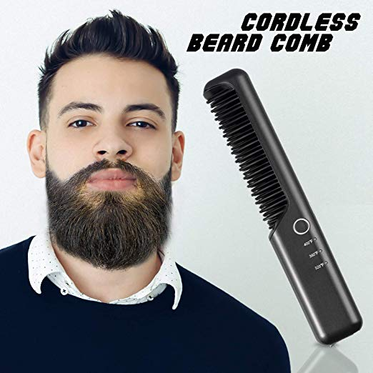 Cordless Beard Straightener Comb