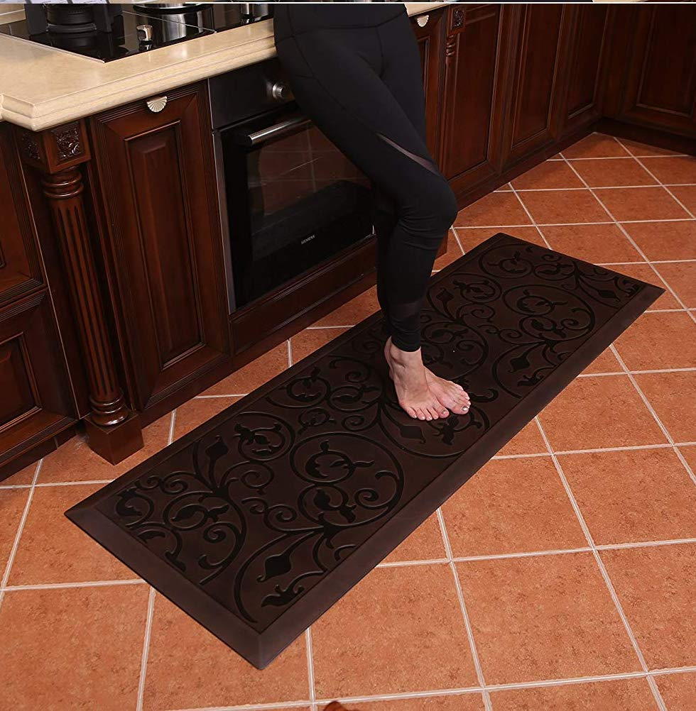 Amcomfy Premium Kitchen Anti Fatigue Mat,Comfort Floor Mats,Standing Mats,Antique Series