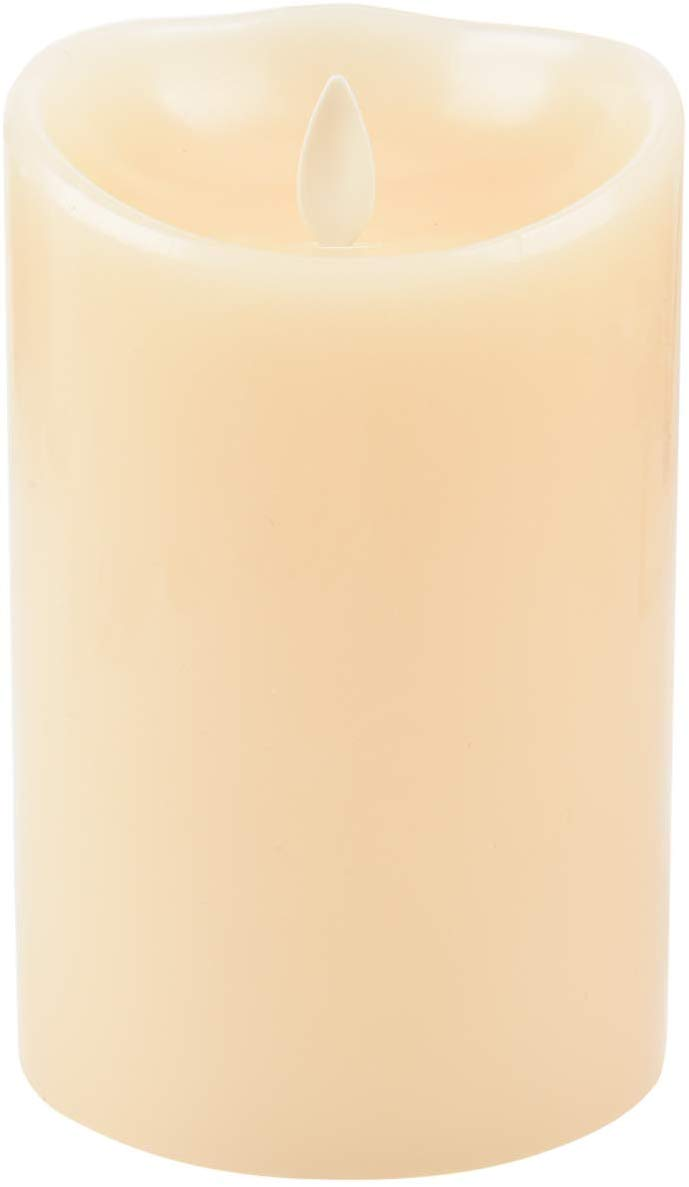 Luminara LED Flameless Candles, Luminara Flameless Real Wax Moving Wick LED Candle