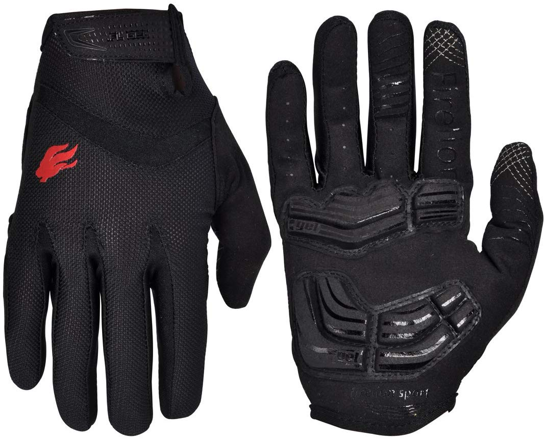 FIRELION Cycling Gloves Bike Bicycle Gloves - Breathable Gel Pad Shock-Absorbing Anti-Slip