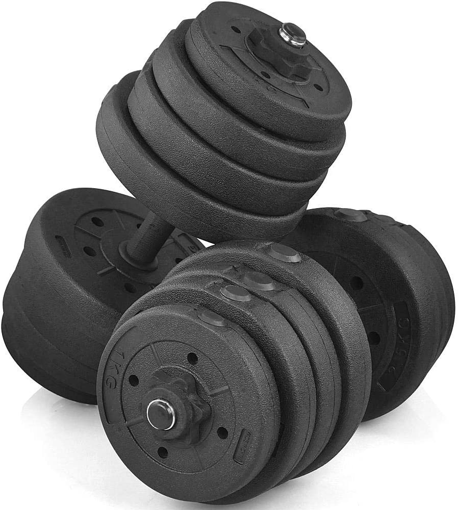 Yaheetech Weight Dumbbell Set